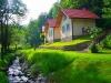 Murowane domki w dolinie nad jeziorem - noclegi Międzybrodzie Bialskie