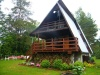 Domek nad jeziorem - noclegi Gulbity